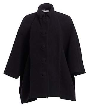 Balenciaga Women's Virgin Wool-Blend Cristobal Jacket