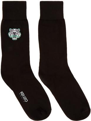 Kenzo Black Tiger Socks $30 thestylecure.com