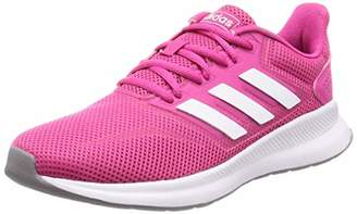 quite nice ac584 e5e8b adidas Women s Falcon Running Shoes, Blu Raw Indigo FTWR White Grey Three  F17