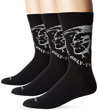 Diesel Men's Ray 3pack Mohican Socks