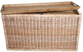 Trunks One World Rattan With Tray Tops Set/3