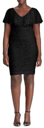 Lauren Ralph Lauren Tamalira Floral Lace Dress
