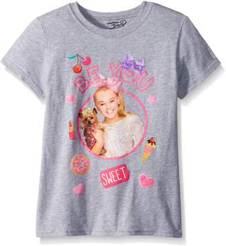 Nickelodeon Big Girls' Jo Siwa Short Sleeve T-Shirt