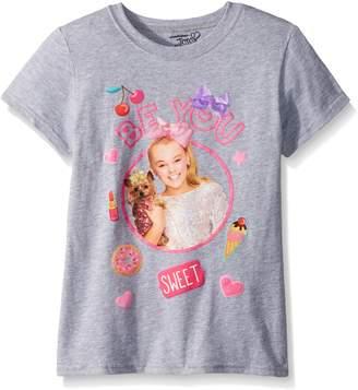 Nickelodeon Big Girls' Jo Siwa Portrait Picture Short Sleeve T-Shirt