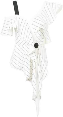 Self-Portrait structured asymmetric top