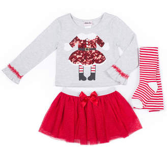 Little Lass 3-pc. Ninjago Legging Set-Toddler Girls