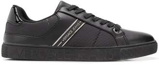 Versace textured sneakers