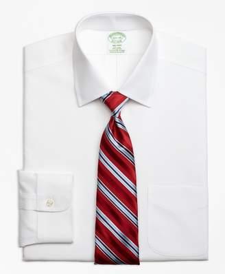 Brooks Brothers Stretch Milano Slim-Fit Dress Shirt, Non-Iron Spread Collar