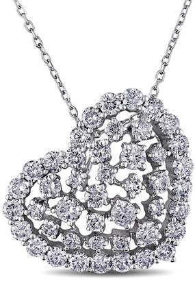 Diamond Select Cuts 14K White Gold 2.00 Ct. Tw. Diamond Necklace