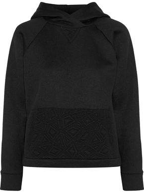 Kain Label Dickinson Two-Tone Cotton-Fleece Hoodie