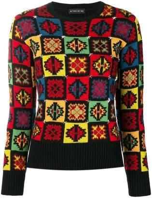 Etro mosaic pattern jumper