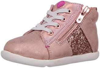 Step & Stride Infant Girl's Zoe Glitter High Top Sneaker