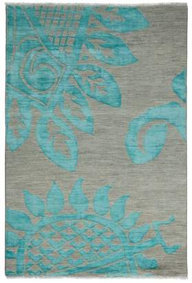 "Bloomingdale's Shalimar Collection Oriental Rug, 4'2"" x 6'"