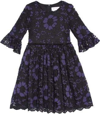 Little Angels Lace Overlay Dress