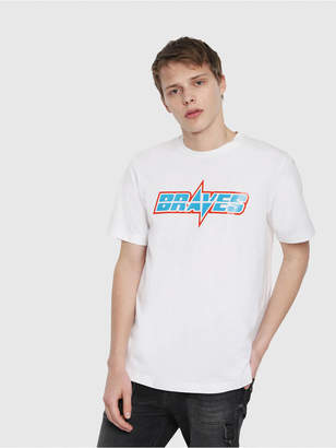 Diesel T-Shirts 0CATM - White - S