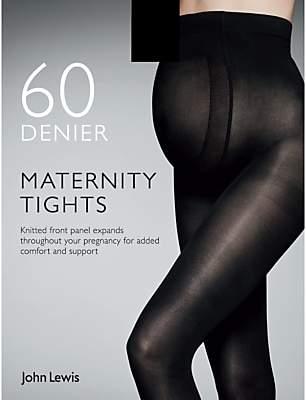 John Lewis 60 Denier Opaque Maternity Tights