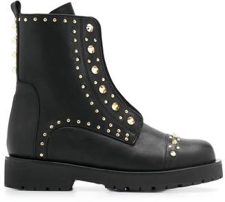 Twin-Set stud embellished boots