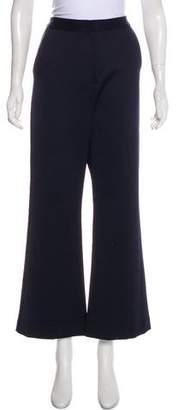 Self-Portrait High-Rise Wide-Leg Pant