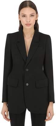 Balenciaga Virgin Wool Hourglass Jacket