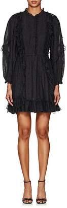 Ulla Johnson Women's Presley Bibbed Dotted Voile Dress