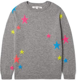 Chinti and Parker Kids - Sizes Xsmall - Large Star Intarsia Cashmere Sweater
