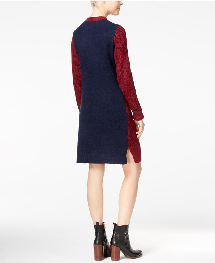 Tommy Hilfiger Adela Cable-Knit Sweater Dress 4
