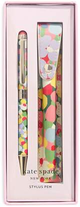 Kate Spade Floral Dot Stylus Pen and Pouch