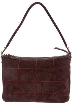 Ungaro Suede Shoulder Bag