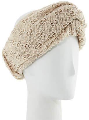 Gucci Macramé Lace GG Headband