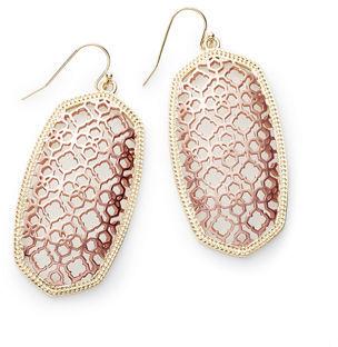 Kendra Scott Danielle Statement Drop Earrings $70 thestylecure.com