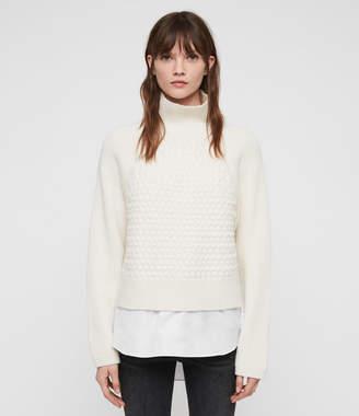 AllSaints Jones Cable Sweater