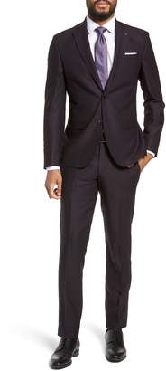 Ted Baker Roger Extra Trim Fit Solid Wool Suit