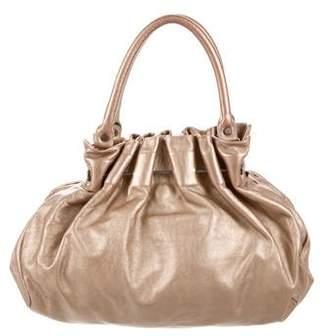 Marni Metallic Hobo Bag
