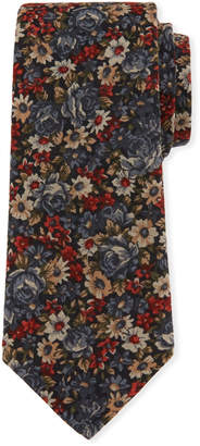 Joe's Jeans Allover Floral Silk Tie