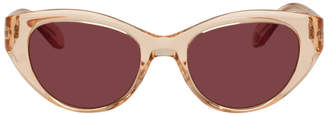 Garrett Leight Pink Del Rey Sunglasses