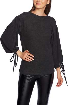 1 STATE 1.STATE Surplice Back Top