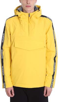 Napapijri Yellow Polyester Jacket