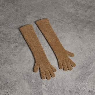 Burberry Chenille Longline Gloves