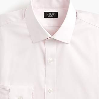 J.Crew Ludlow stretch two-ply easy-care cotton dress shirt in pinpoint oxford