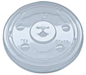 clear Fabri-kal Fabri-Kal Kal Nexclear Plastic Drink Cup Lids, 1000 count