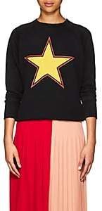 "Givenchy Women's ""World Tour"" Cotton Sweatshirt - Black"