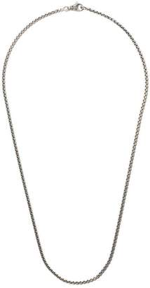 David Yurman 22 length small Box Chain necklace