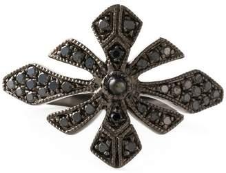 Joelle Gagnard Jewellery 'Antique' tip finger ring