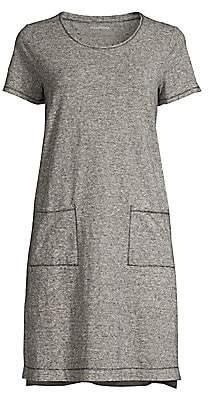 Eileen Fisher Women's Hemp Organic Cotton Mini-Stripe Dress