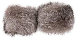 Fox Fur Wrist Cuffs