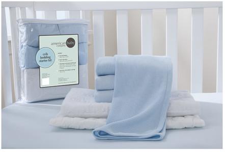 American Baby CompanyAmerican Baby Company Starter 6 Piece Crib Bedding Set