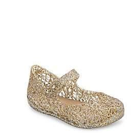 Mini Melissa Baby's & Little Girl's Zigzag Glitter Mary Jane Flats