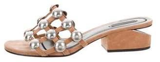 Alexander Wang Embellished Caged Sandals