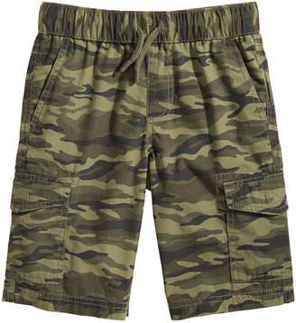Epic Threads Big Boys Camo-Print Cotton Cargo Shorts