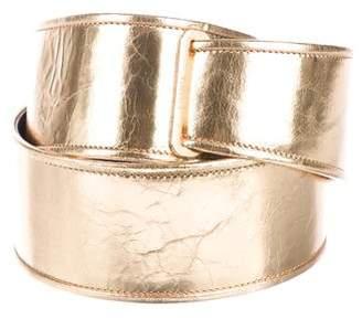 Chanel Metallic Waist Belt